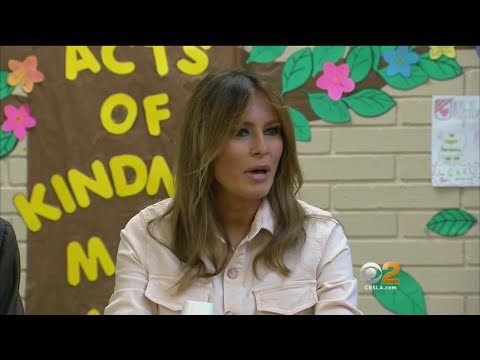 Melania Trump Raises Eyebrows With Jacket Saying She Doesn't Care
