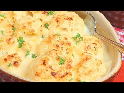 рецепт цветная капуста запеченная под сыром