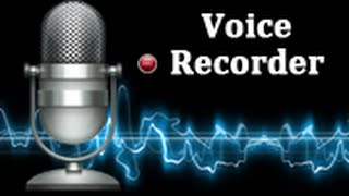 Voice Recorder YouTube video