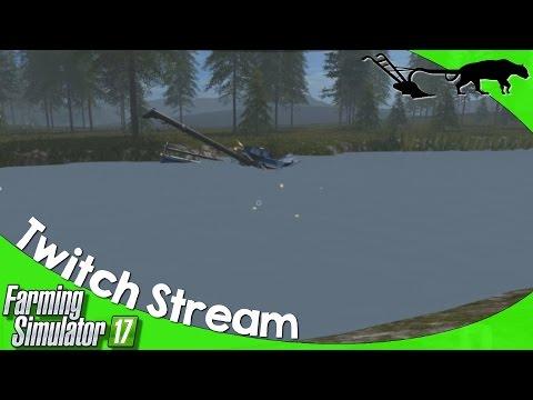 Twitch Livestream: Farming Simulator 17 PC CHERRY HILLS Multiplayer 05/20/2017 P2