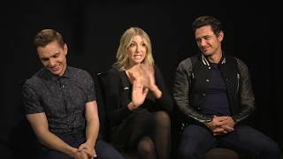 Video The Disaster Artist Interview - James Franco, Dave Franco & Ari Graynor MP3, 3GP, MP4, WEBM, AVI, FLV Agustus 2018