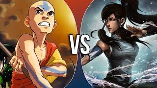 Versus Series  Aang vs Korra