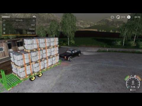 Farming Simulator 19: Loading sheep wool like a boss