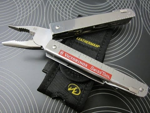 Victorinox SwissTool CS Plus Multitool + Leatherman Standard Nylon Holster I