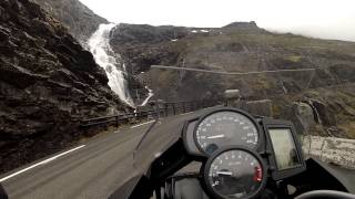 7. BMW F700GS Trollstigen