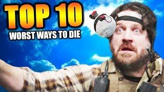 "Video Top 10 ""WORST WAYS TO DIE"" in COD HISTORY MP3, 3GP, MP4, WEBM, AVI, FLV Juni 2018"