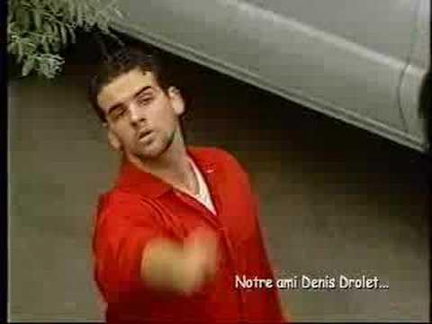 La première apparition de «Denis Drolet» (le barbu)