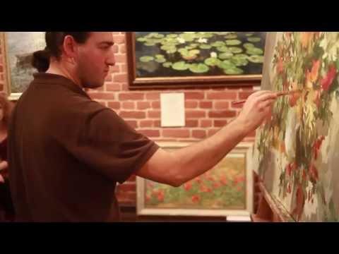 Бесплатный мастер класс живописи