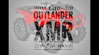 9. 2018 Can-Am Outlander XMR 570/850/1000 Review