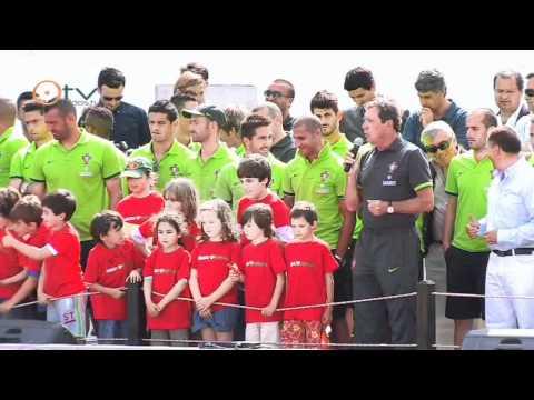 Óbidos em Festa de Despedida da Seleção Nacional de Futebol