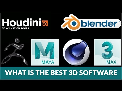 What is the BEST 3D Software  Which should i learn Maya, 3dsMax, Cinema 4D, Houdini, Blender, etc