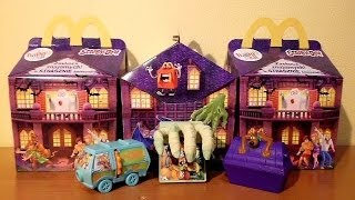 2013 Scooby-Doo Happy Meal Toys in McDonald's Europe Set 1 RARE !!! Part 1