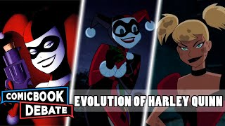 Nonton Evolution Of Harley Quinn In Cartoons In 7 Minutes  2017  Film Subtitle Indonesia Streaming Movie Download
