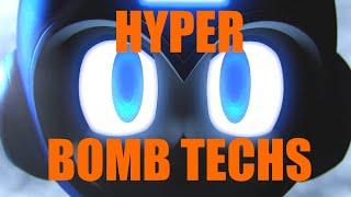 Mega Man's Hyper Bomb Techs, By ENKER