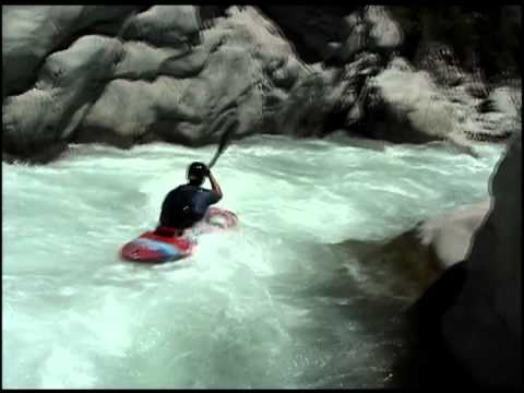 Kayaking Gnarly Rapids in Andes Mountains