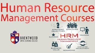 Human Resource Management  Diploma (Level 4)