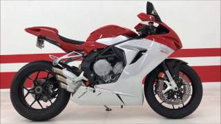 9. 2014 MV Agusta F3 800 - RARE BIKE WITH ONLY 89 MILES. MOTORCYCLE ART