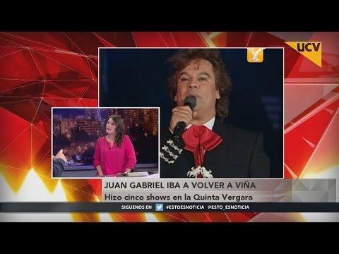video A los 66 años murió Juan Gabriel producto de un infarto