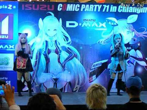 World Cosplay Summit 2014 Thai regional round – Chiang Mai – Team 7 Vocaloid