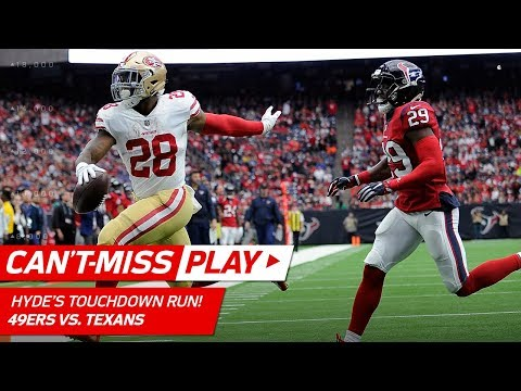 Video: Carlos Hyde's Great TD Run Set Up by Kyle Juszczyk's Unreal Plays! | Can't-Miss Play | NFL Wk 14