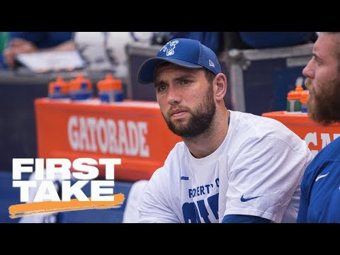 How Andrew Luck's injury could be good for Colts | First Take | ESPN