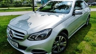 Testbericht Mercedes E-Klasse [2014] - NEU Testdrive Video Review - EngineReport