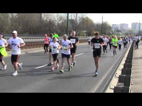 7 Półmaraton Poznań part 3 06.04.2014 (видео)