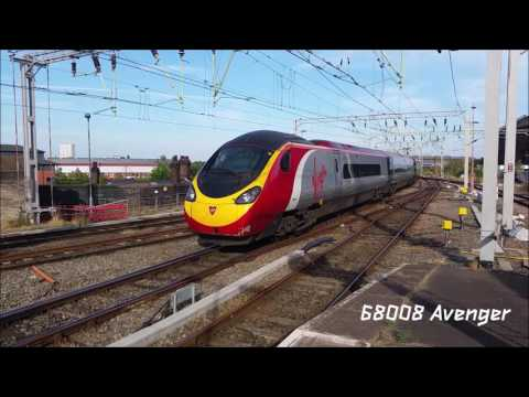 La Strabiliante Virgin Trains Pendolino