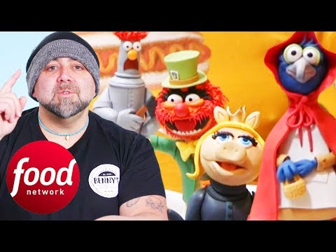 Duff Goldman Aces Muppets Cake For Aspiring Storytellers   Duff Takes The Cake