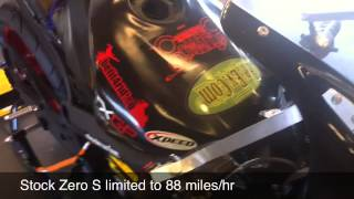 8. Jeremiah Johnson & Terry Hershner modify 2012 Zero S ZF9 for TTXGP World Championshi
