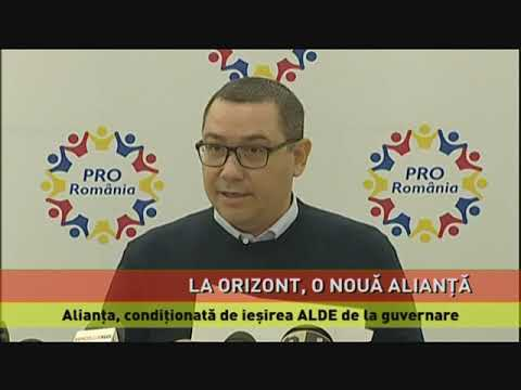 Ponta și Tăriceanu pun la cale o nouă alianță