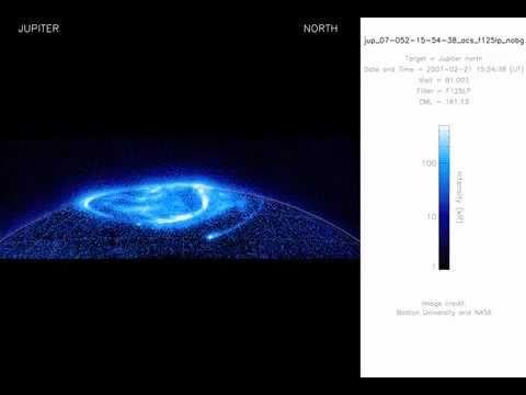 Hubble: Jupiter's Ultraviolet Aurora (2007.02)