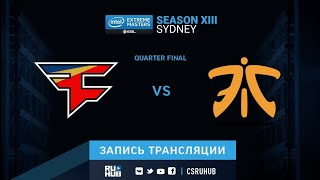 FaZe vs fnatic - IEM Sydney XIII - map2 - de_mirage [ceh9, Enkanis]