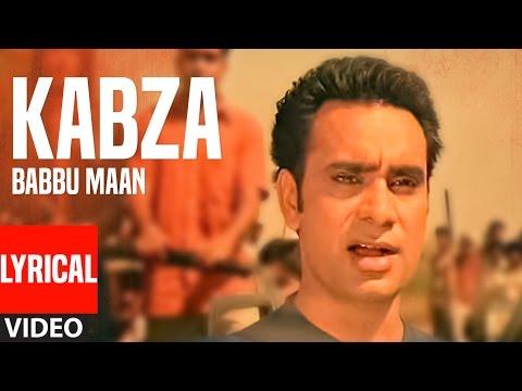 Kabza: Babbu Maan Full Lyrical Video Song | Saun D
