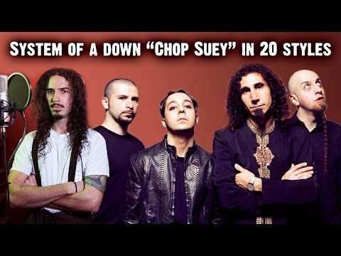 System Of A Down - Chop Suey | Ten Second Songs 20 Style Cover (видео)