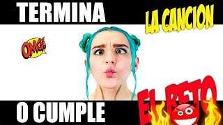 Video TERMINA LA CANCION Y EL ROAST YOURSELF CHALLENGE O CUMPLE EL RETO 🎤📻❤👅 MP3, 3GP, MP4, WEBM, AVI, FLV Desember 2018