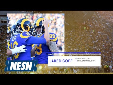 Video: Jared Goff Shoots His Shot With Halle Berry