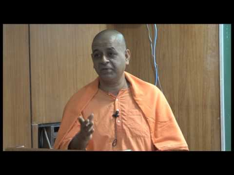 Swami Atmashraddhananda on 'Mind & Its Control' at IIT Kanpur