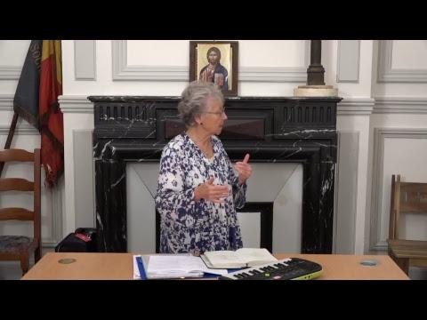 CDS Paris, 18 octobre 2018: Hélène Sejournet - Mémorisation de l'évangile