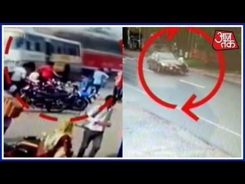 Video Speeding Truck Collides With Bus In Jaipur, Speeding Car Rams Bike In Kerala download in MP3, 3GP, MP4, WEBM, AVI, FLV January 2017
