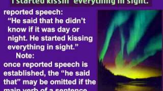 English Grammar - Reported Speech - Lesson 60