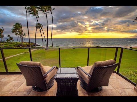 Beachfront Legacy Property | Wailea Elua 1308 видео
