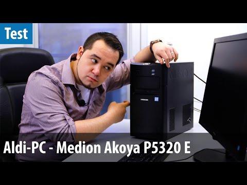 Gamer-PC von Aldi? Medion Akoya P5320 E im Test | deutsch / german
