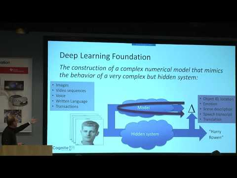 Vision and Deep Learning Explosion, Dr. Chris Rowen, CEO, Cognite Ventures and Stanford University