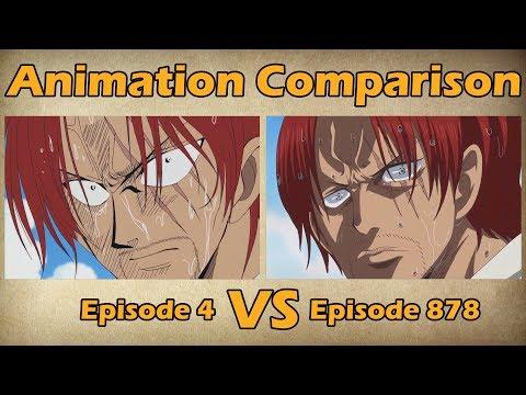 One Piece - Episode 4 VS Episode 878 | Animation Comparison - Thời lượng: 12:01.