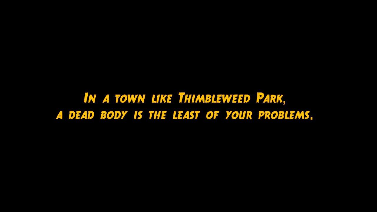 Ron Gilbert and Gary Winnick's 'Thimbleweed Park' Gets a New Trailer for Gamescom