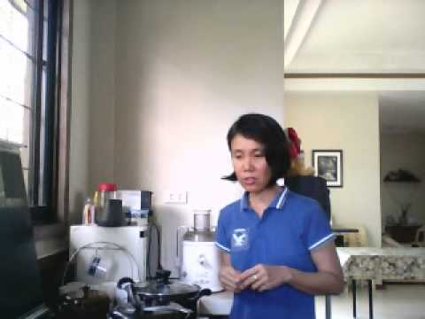 Penny, pancreatic cancer survivor, shows how to make guyabano tea