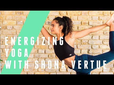 12 Minute Energizing Yoga Session With Shona Vertue | The Body Coach TV