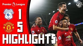 Download Video Highlights | Cardiff 1-5 Manchester United | Premier League MP3 3GP MP4