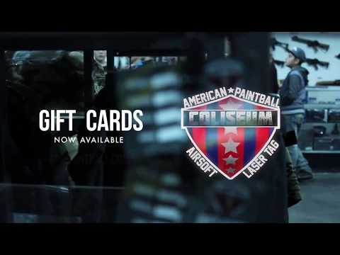 APC Offers Gift Cards for Paintball, Airsoft, Laser tag and Virtual Reality